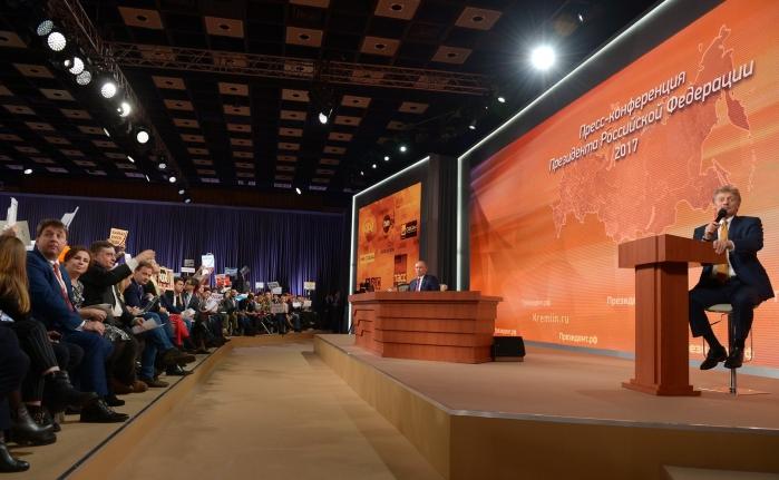 Выборы, экономика и майские указы: в столице прошла 13-я ежегодная пресс-конференция с Владимиром Путиным
