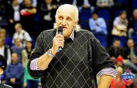 Легендарный центровой сборной Советского Союза по баскетболу Владимир Ткаченко