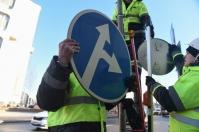 В России заговорили об уменьшении дорожных знаков вдвое
