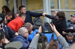 В Волгограде состоялся митинг против Навального
