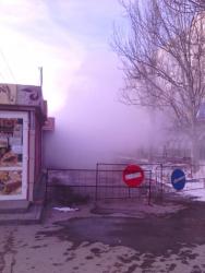 «Это не авария - это течь»: порыв на юге Волгограда устранят на следующей неделе