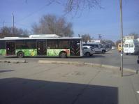 Волгоградка стала свидетельницей халатной работы городских автобусов