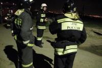В Волгограде поздно ночью на проспекте Ленина загорелась квартира