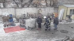 Взрыв на Комсомольском мосту в Волгограде попал на видео