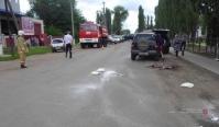 Под Волгоградом автоледи насмерть сбила пожилого водителя и врезалась в иномарку