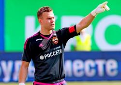 Акинфеев самый «сухой» вратарь отечественного футбола
