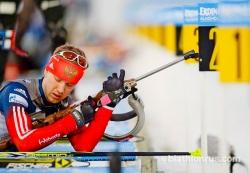 Алексей Волков выиграл спринт на Кубке IBU