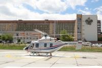 В Волгограде новый вертолет доставил первого пациента