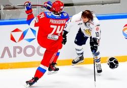 Россия обыграла Финляндию в Евротуре