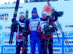 Сергей Устюгов выиграл золото в скиатлоне