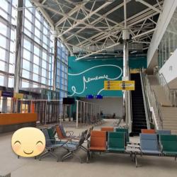 В новом терминале волгоградского аэропорта обрушился потолок