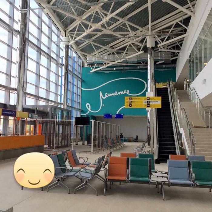 Волгоградцы в экстазе от творения дизайнеров нового терминала «Estasi»