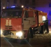 40 человек эвакуировали в результате пожара в многоэтажке