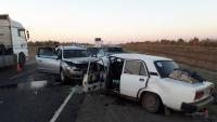 В Волгоградской области «встречка» убила троих человек