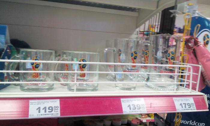 Что из сувениров ЧМ-2018 волгоградцам предлагают купить в сетевых магазинах