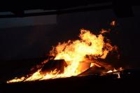 Урюпинский пенсионер заживо сгорел в собственном доме