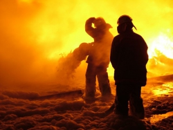 В Советском районе Волгограда заживо сгорел человек