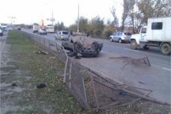 В Волгограде опрокинулась «Лада-Приора»: пострадал пассажир