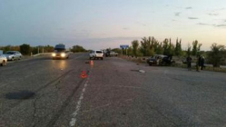 Под Волгоградом пьяный водитель устроил аварию, в которой пострадали трое