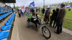 Уникальный электровелосипед проедет 300 км по Волгоградской области