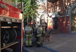 В центре Волгограда горел ресторан