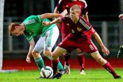 Сборная России U-19 по футболу сыграла вничью с Северной Ирландией