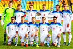 Сборная России U-19 по футболу третий матч сыграла вничью