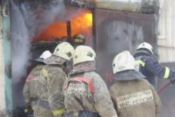 Пожар в центре Волгограда: 100 человек эвакуировано, один погиб