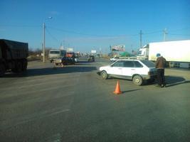 В Волгограде столкнулись две «девятки» ВАЗ