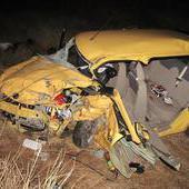 В Волгоградской области в двух лобовых ДТП погибли два водителя