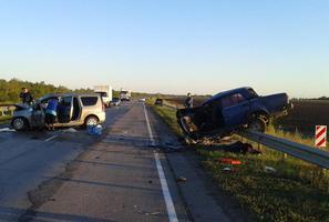 В тройном ДТП на трассе «Москва-Волгоград» трое погибли, двое ранены