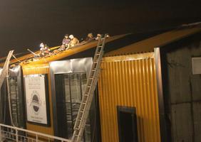 В Волгограде пожар сорвал вечеринку в новом ресторане «Миля»