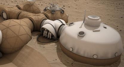 ВNASA показали, как будут выглядеть жилые дома наМарсе