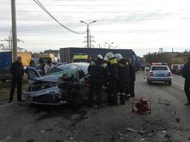 В Волгограде «в лобовом» столкновении погибли водители двух «легковушек»
