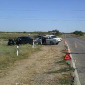 В Волгоградской области престарелый водитель таранил авто из Дагестана
